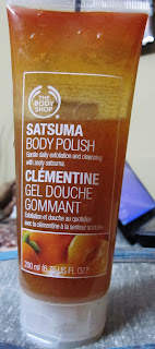 The Body Shop Satsuma Body Polish Review Photos