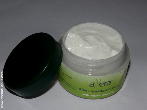Avera Aloe Face Glow Cream Review Swatches Photos