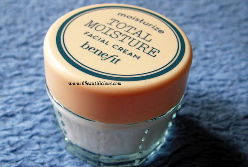 Benefit B Right Total Moisture Cream Review