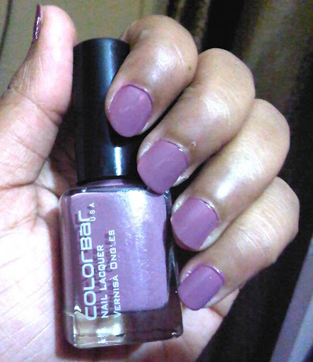 Colorbar Nail Lacquer Dusky Mauve Review