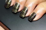 NOTD – Gold and Black