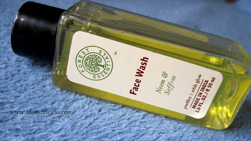 Forest Essentials Neem & Saffron Face Wash Review