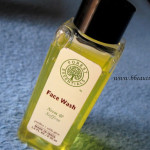 Forest Essentials Face Wash Neem and Saffron Review