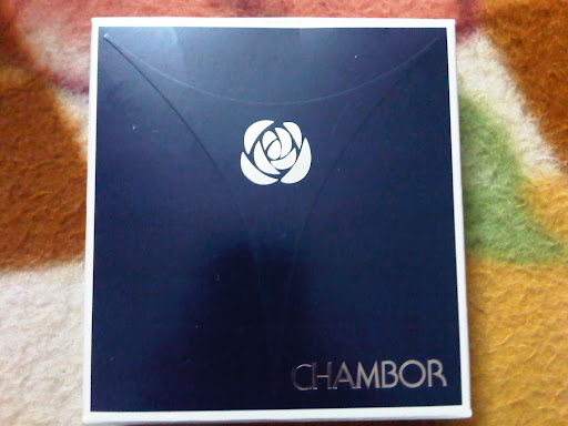 Chambor Silver Shadow Compact Review Swatches