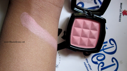NYX Powder Blush Peach Review Swatches Photos