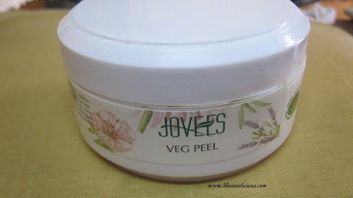 Jovees Veg Peel Review Swatches Photos