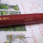 Lakme Aquashine Lip Color Fig Review Swatches
