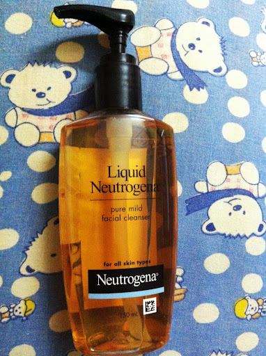 Neutrogena Pure Mild Facial Cleanser Review