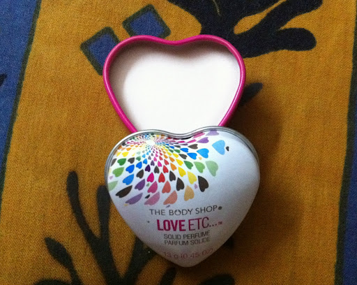 The Body Shop Love Etc Solid Perfume Review