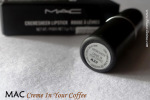 MAC Creme In Your Coffee Lipstick Review Swatches Photos