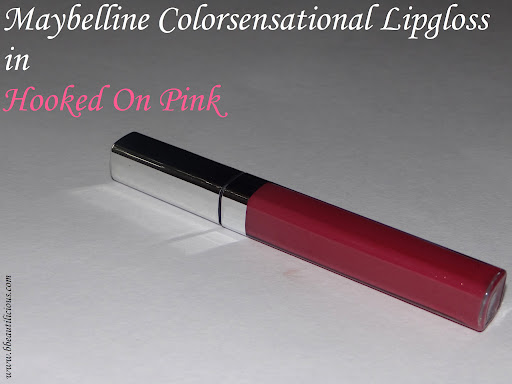 Maybelline Colorsensational Lipgloss Swatches Review