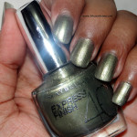 Maybelline Express Finish Khaki Green Nail Paint