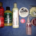 Shopping from The Body Shop