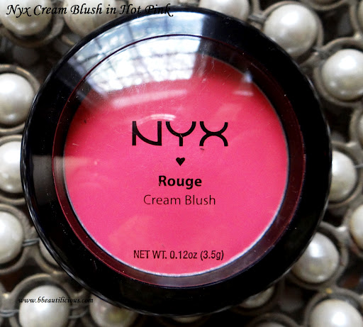 Nyx Cream Blushes Swatches