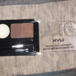 NYX Eye Brow Cake Powder Review Swatches