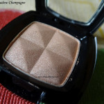 NYX Single Eyeshadow Champagne Review Swatches Photos