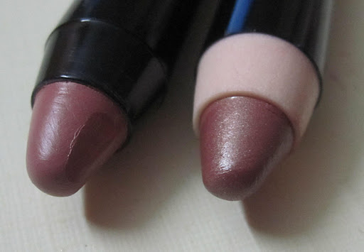 NYX Jumbo Lip Pencil Review Swatches Fuschia, Chestnut