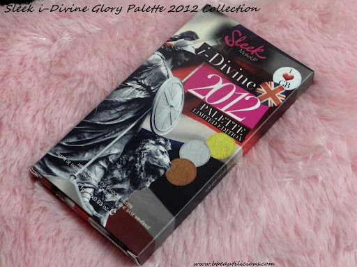 Sleek i-divine Eyeshadow Palette Glory Swatches Review