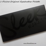 Sleek i-Divine Original Eyeshadow Palette Swatches Photos