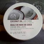 The Body Shop Coconut Oil Hair Shine Review