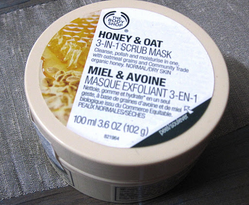 The Body Shop Honey & Oat 3 In 1 Scrub Mask Review
