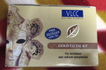 VLCC Gold Facial Kit Review Photos