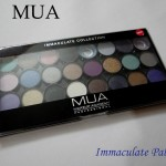 MUA Immaculate Collection Swatches Review Photos