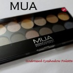 MUA Undressed Eyeshadow Palette Swatches Review Photos
