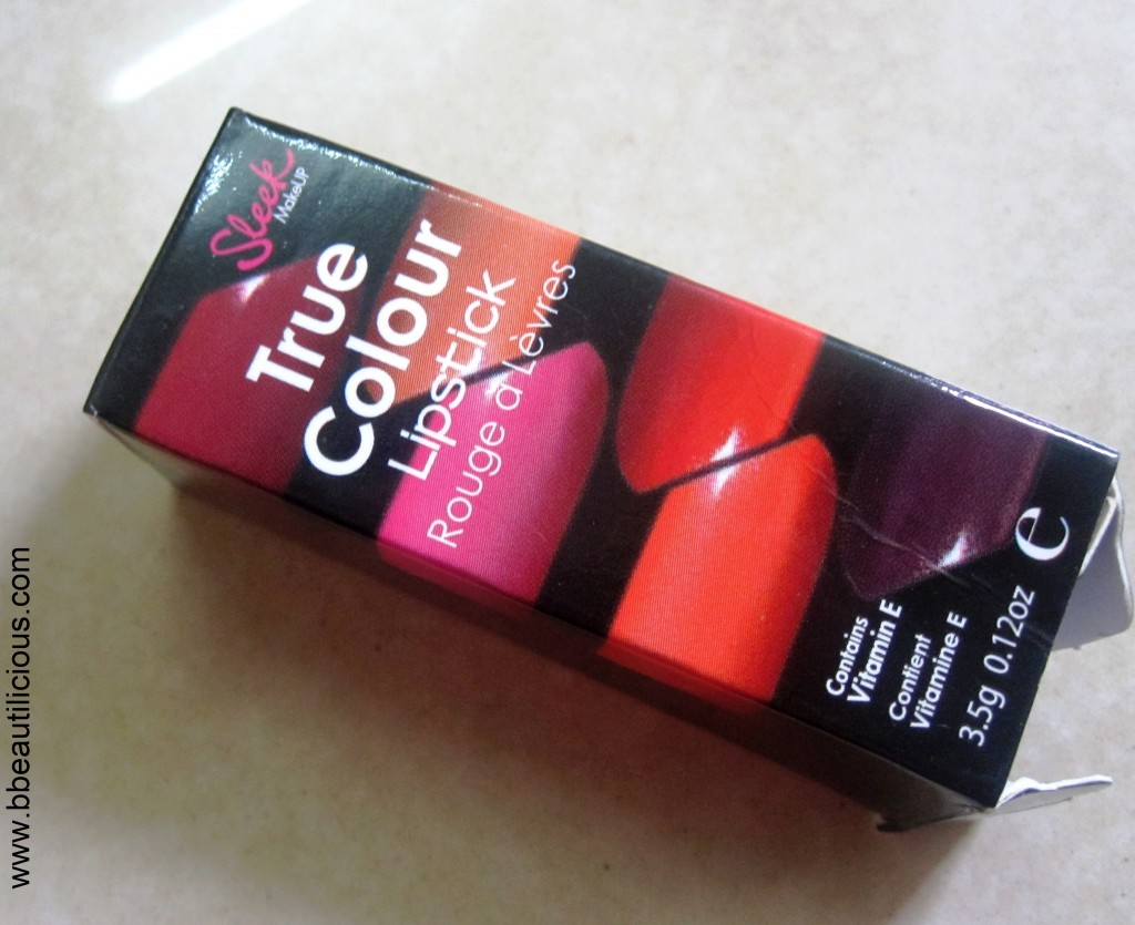 Sleek True Color Lipstick in Cherry 1024x835