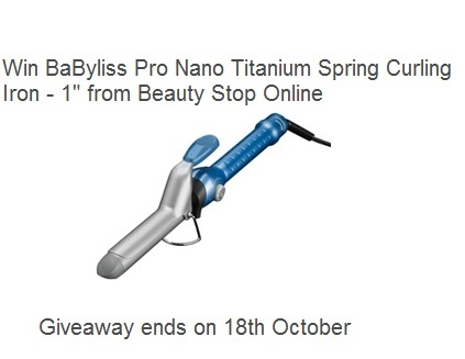 Win BaByliss Pro Curling Iron from Beauty Stop Online! U.S. only