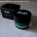 Bharat & Dorris Cream Eyeliner No 13 Review, Swatches, Photos