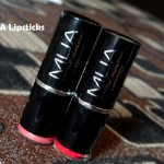 MUA Lipstick Swatches