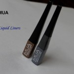 MUA Liquid Eyeliner Swatches