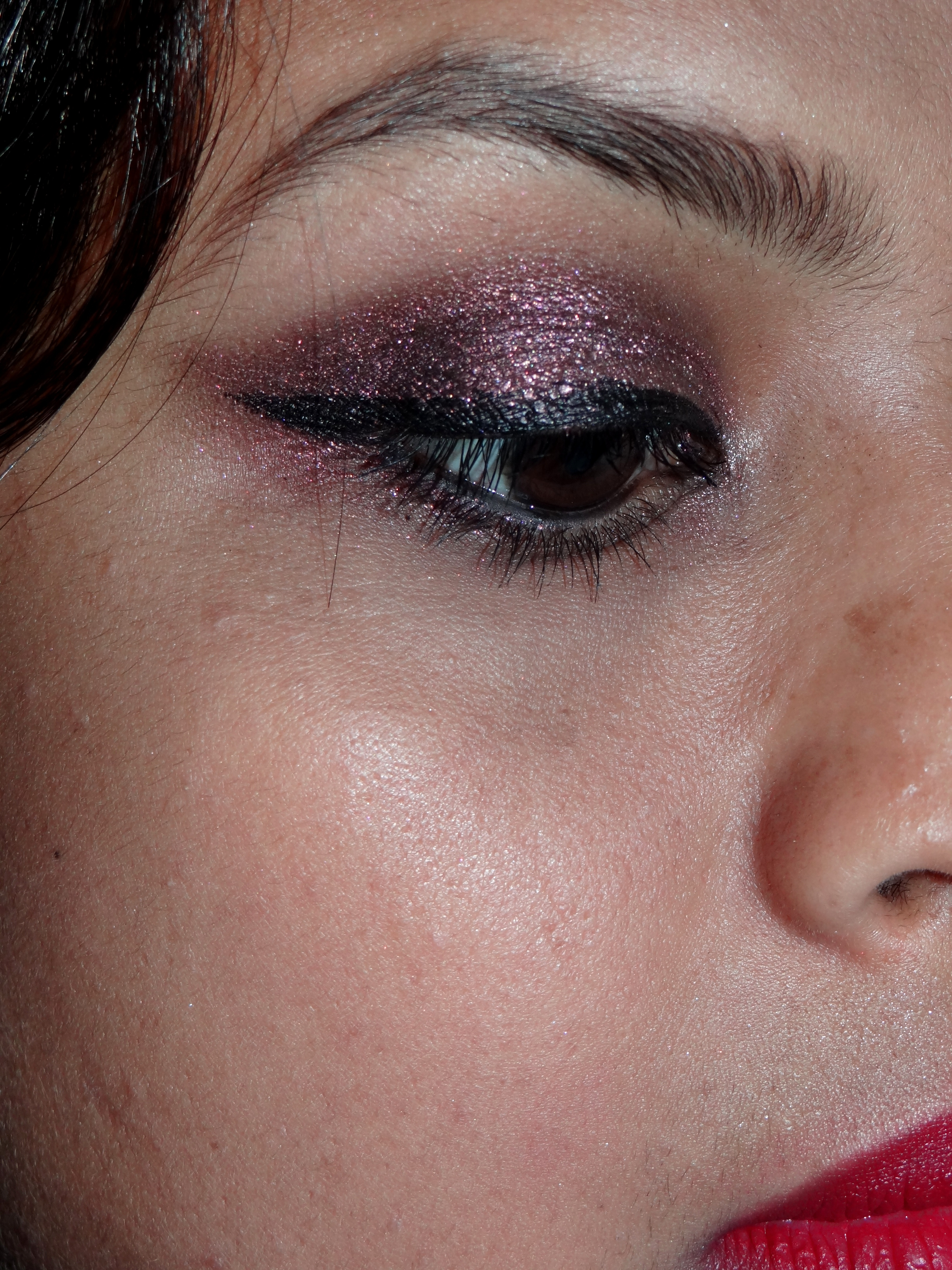 Maybelline Color Tattoo Eyeshadow Pomegranate Punk Review | Be ...