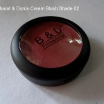 Bharat & Dorris Cream Blush Shade 02 Review Swatches Photos FOTD