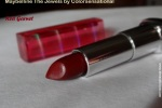 Maybelline The Jewels by Colorsensational Red Garnet Review, Swatches, Photos