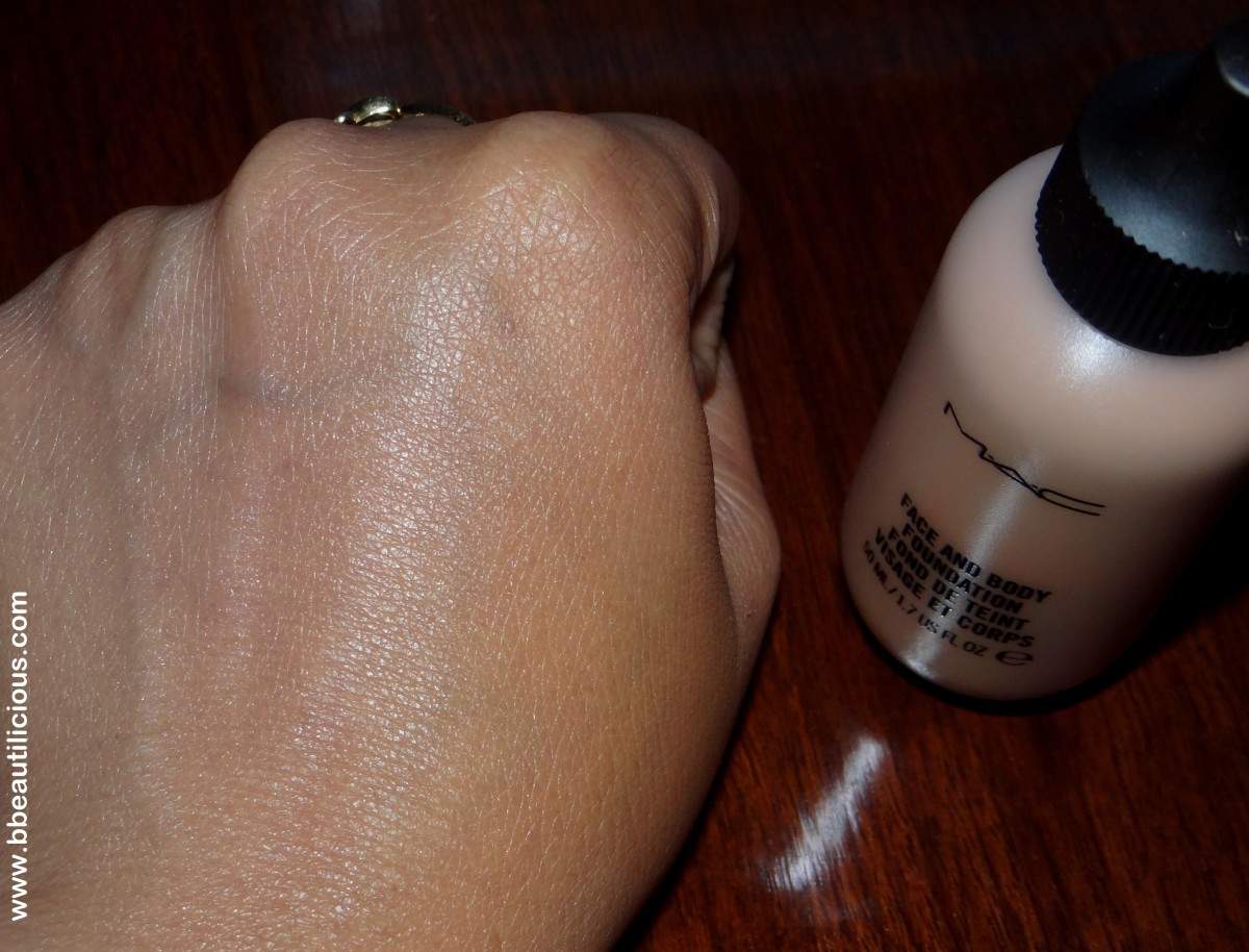 MAC Face and body foundation C6