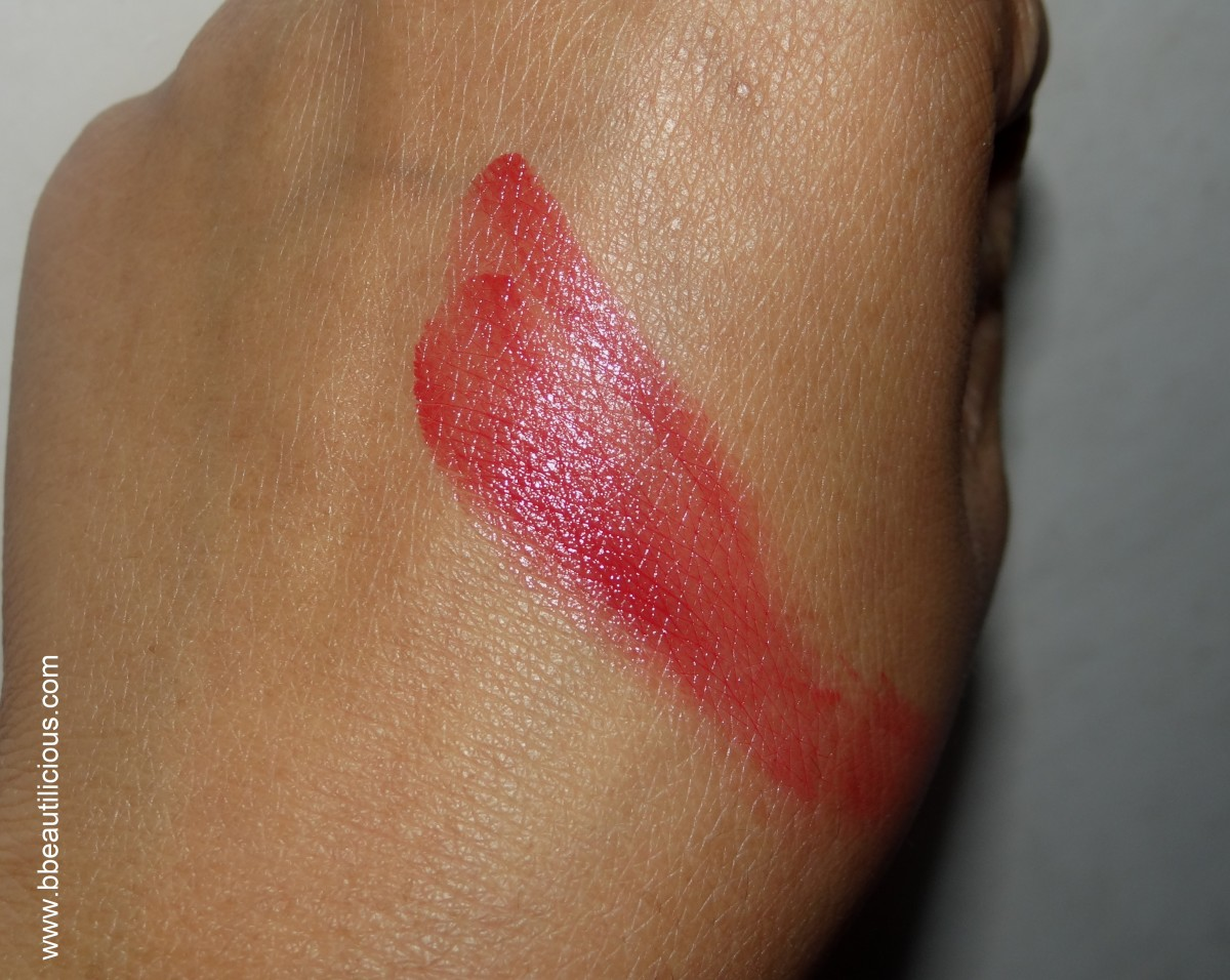 Stila Convertible lip & cheek Color Poppy swatches