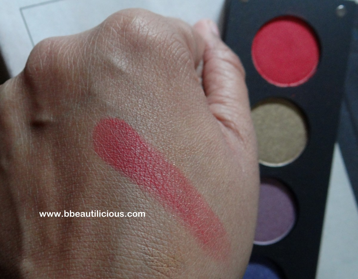 Inglot AMC 50 Eyeshadow Review Photos Swatches EOTD