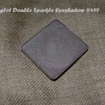 Inglot Double Sparkle Eyeshadow 459 Review Swatches EOTD