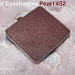Inglot Pearl Eyeshadow 452 Review Swatches Photos Eye Makeup