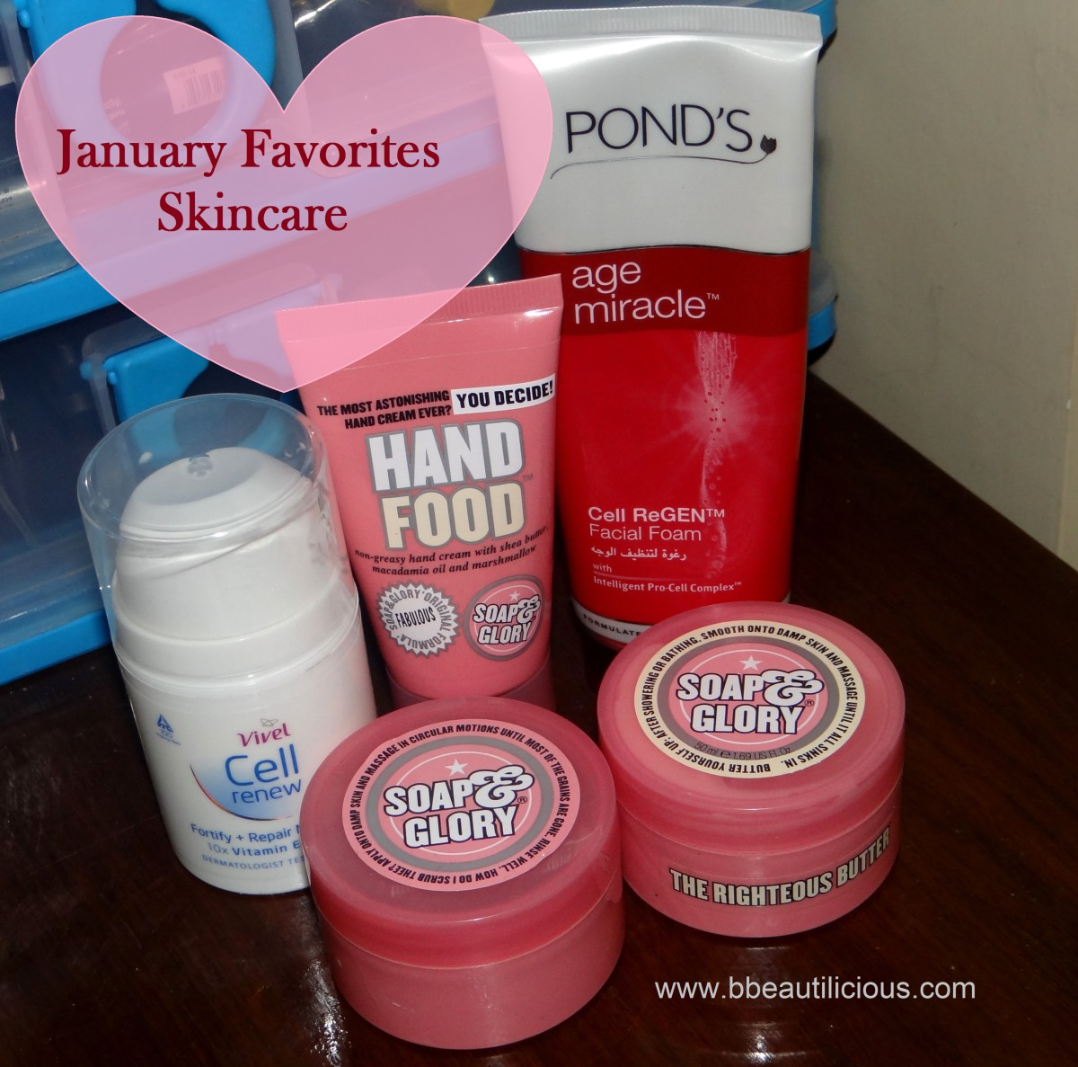 January favorites skincare
