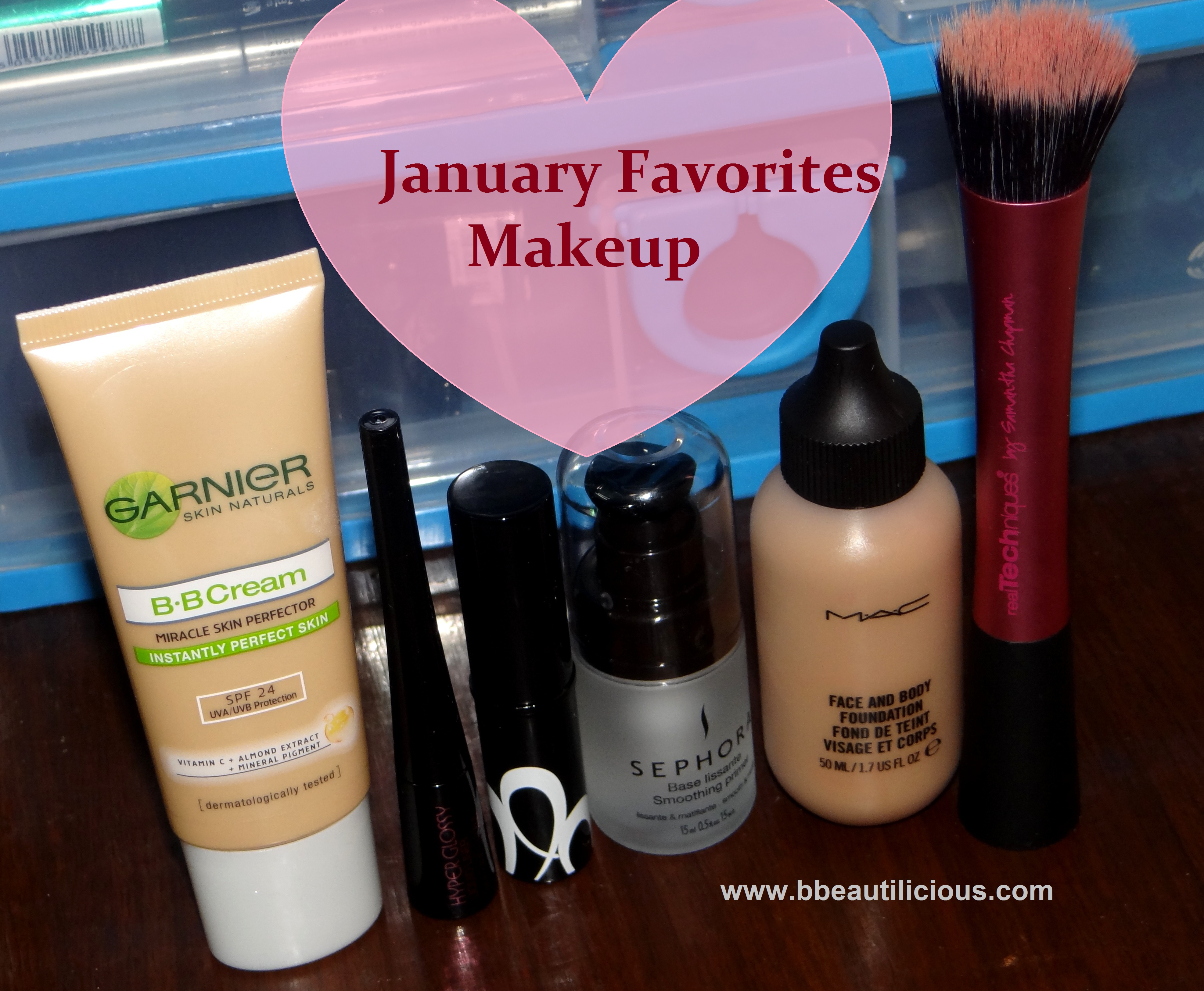 Monthly Favorites – Makeup & Skincare