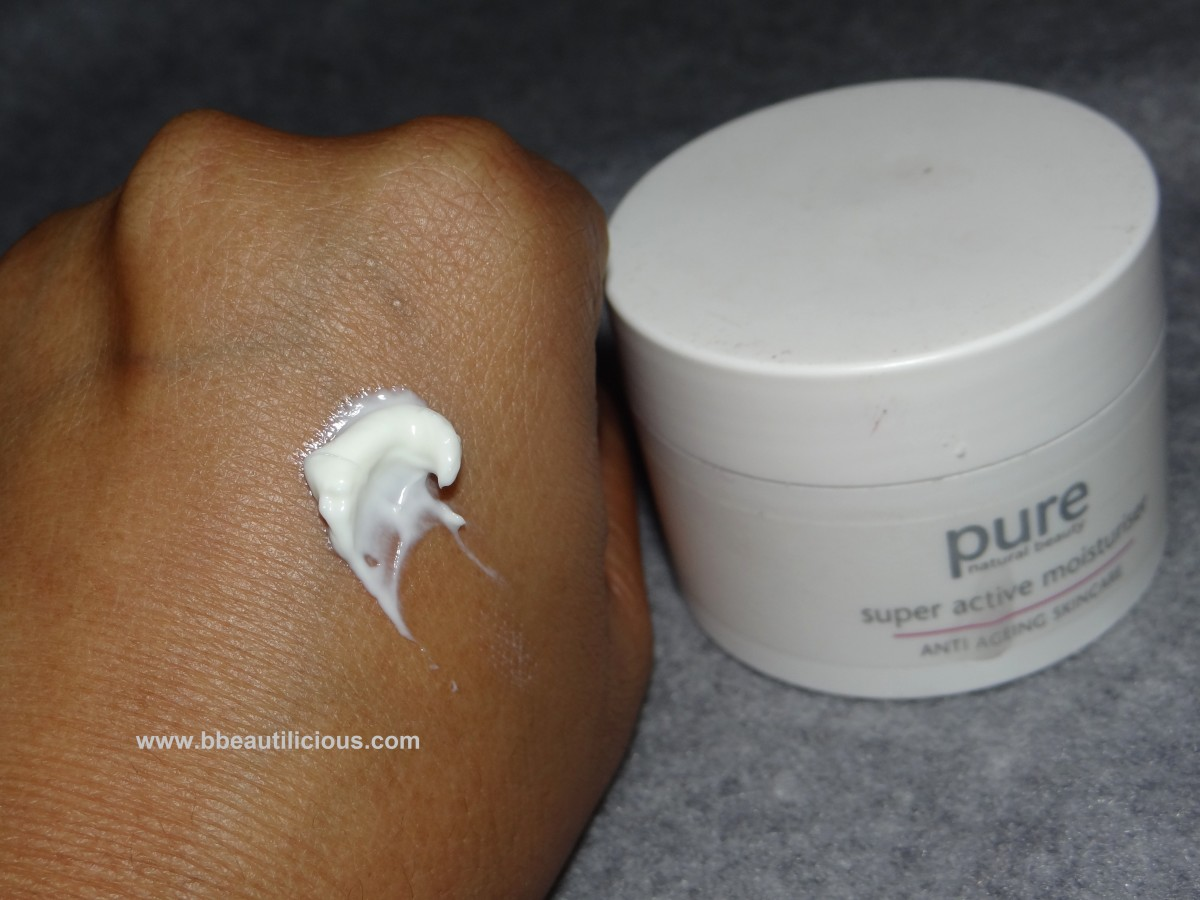 Marks & Spencer Pure superactive moisturizer  anti ageing skincare
