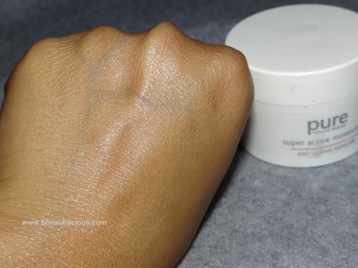 Marks & Spencer Pure superactive moisturizer anti ageing skincare review