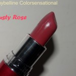 30 Days 30 Lipsticks – Day 19 Maybelline Colorsensational Dusty Rose