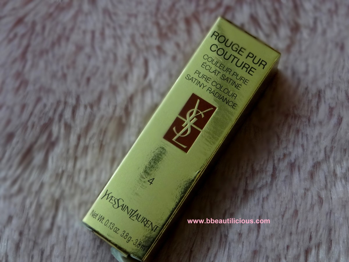 YSL Rouge Pur Couture Rouge Vermillon #4 Review Swatches Photos