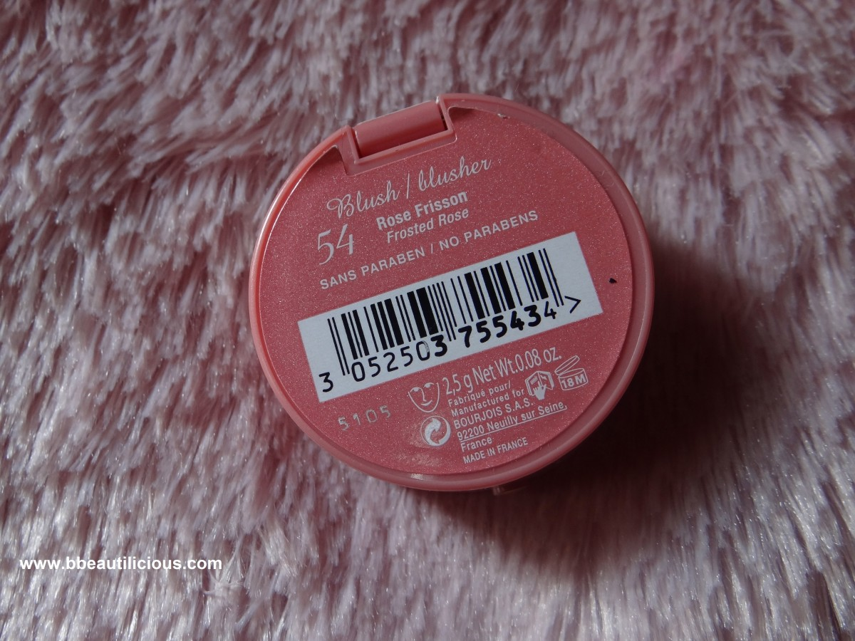 Bourjois 54 Rose Frisson Blush
