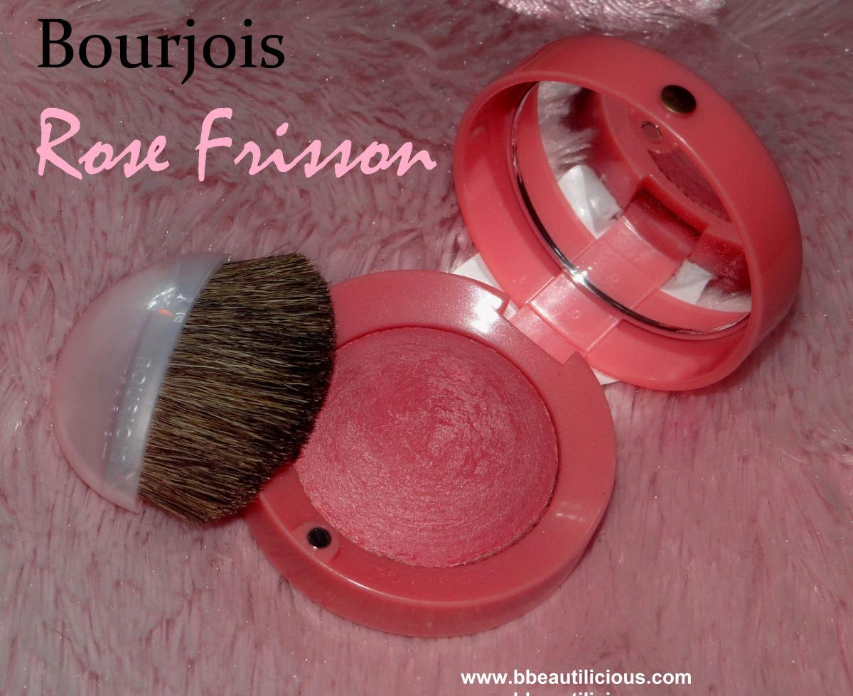 Bourjois 54 Rose Frisson Blush review