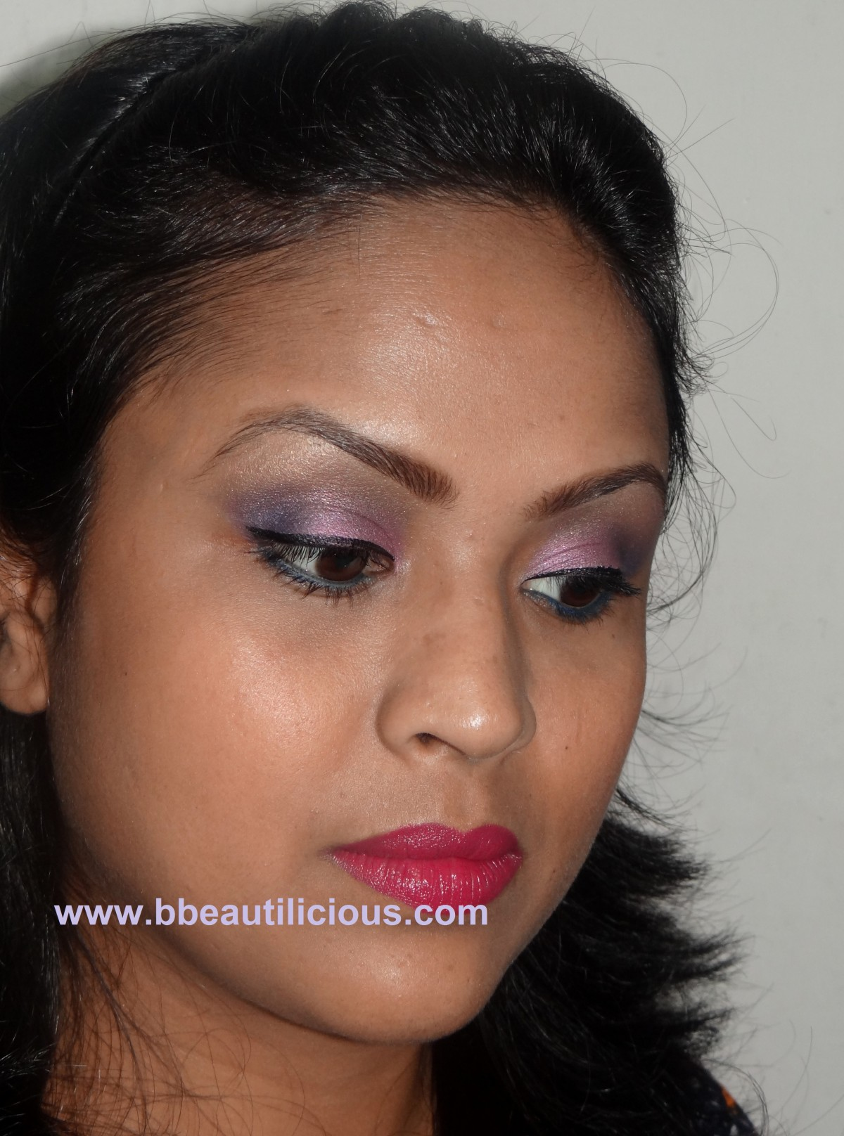 Inglot Pearl eyeshadow 445 swatch